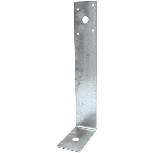 Simpson Strong-Tie 11 In. x 3-5/8 In. x 2 In. Galvanized Steel 12 ga Reinforcing Angle