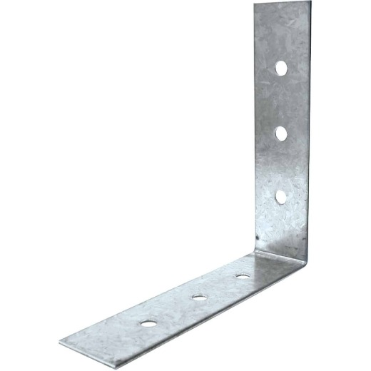 Simpson Strong-Tie 8 In. x 8 In. x 2 In. Galvanized Steel 12 ga Reinforcing Angle