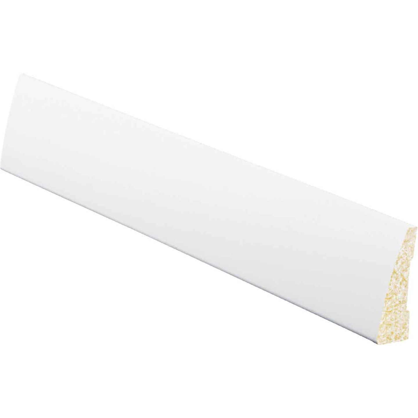 Inteplast Building Products 5/8 In. W. x 2-1/4 In. H. x 7 Ft. L. Crystal White Polystyrene Ranch Casing Image 1