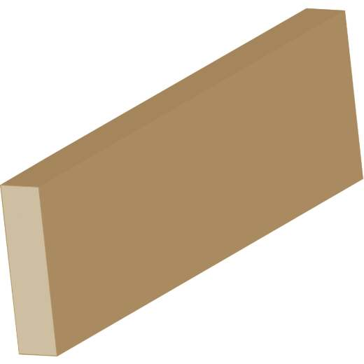 Cedar Creek LWM248 11/16 In. x 1-3/4 In. x 8 Ft. Fingerjoint Pine Bare Screen Stock Flat Molding