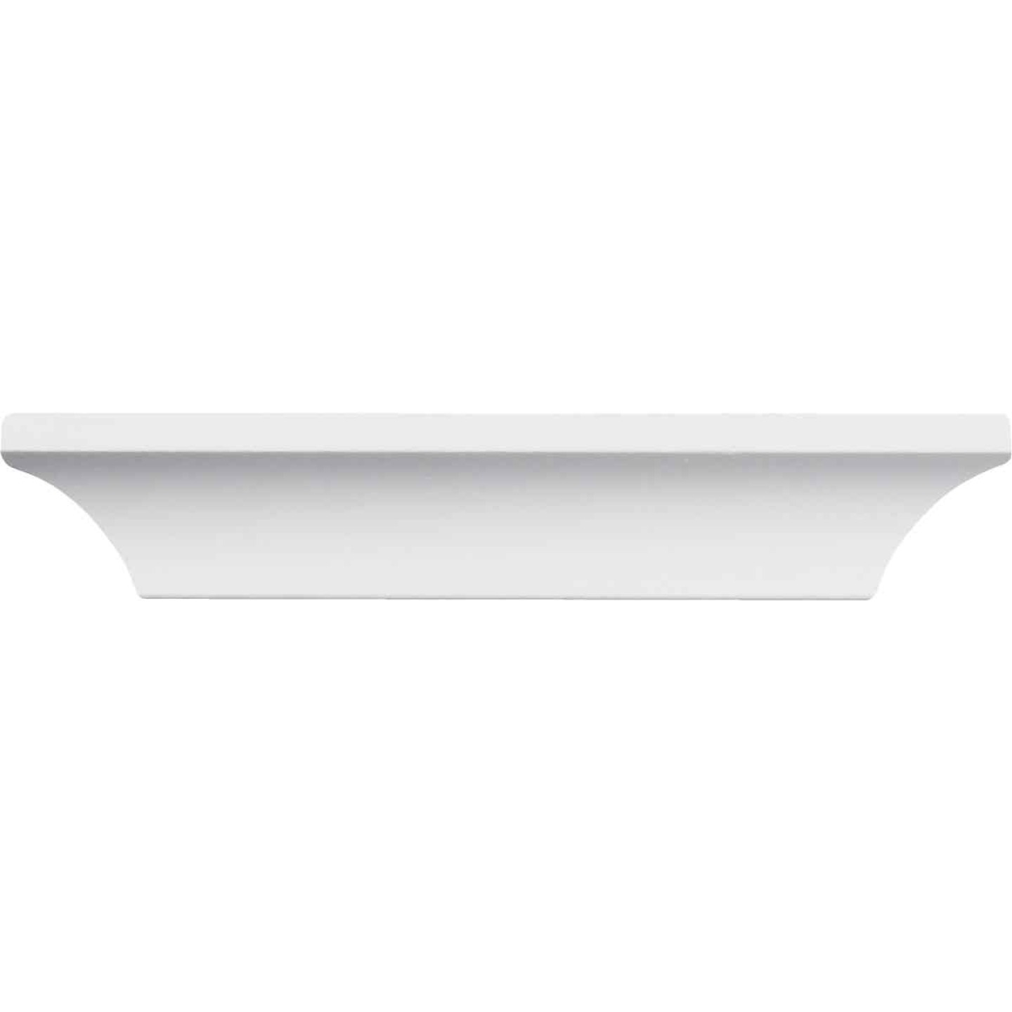 Inteplast Building Products 1/2 In. W. x 1-9/16 In. H. x 8 Ft. L. Crystal White Polystyrene Cove Molding Image 3