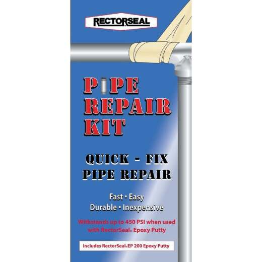 Rectorseal 2 In. x 4 Ft. Pipe Repair Kit