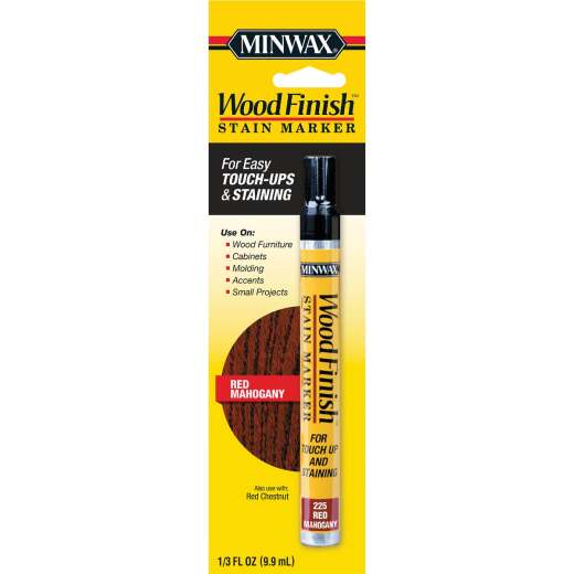 Minwax Wood Finish Red Mahogany Stain Marker