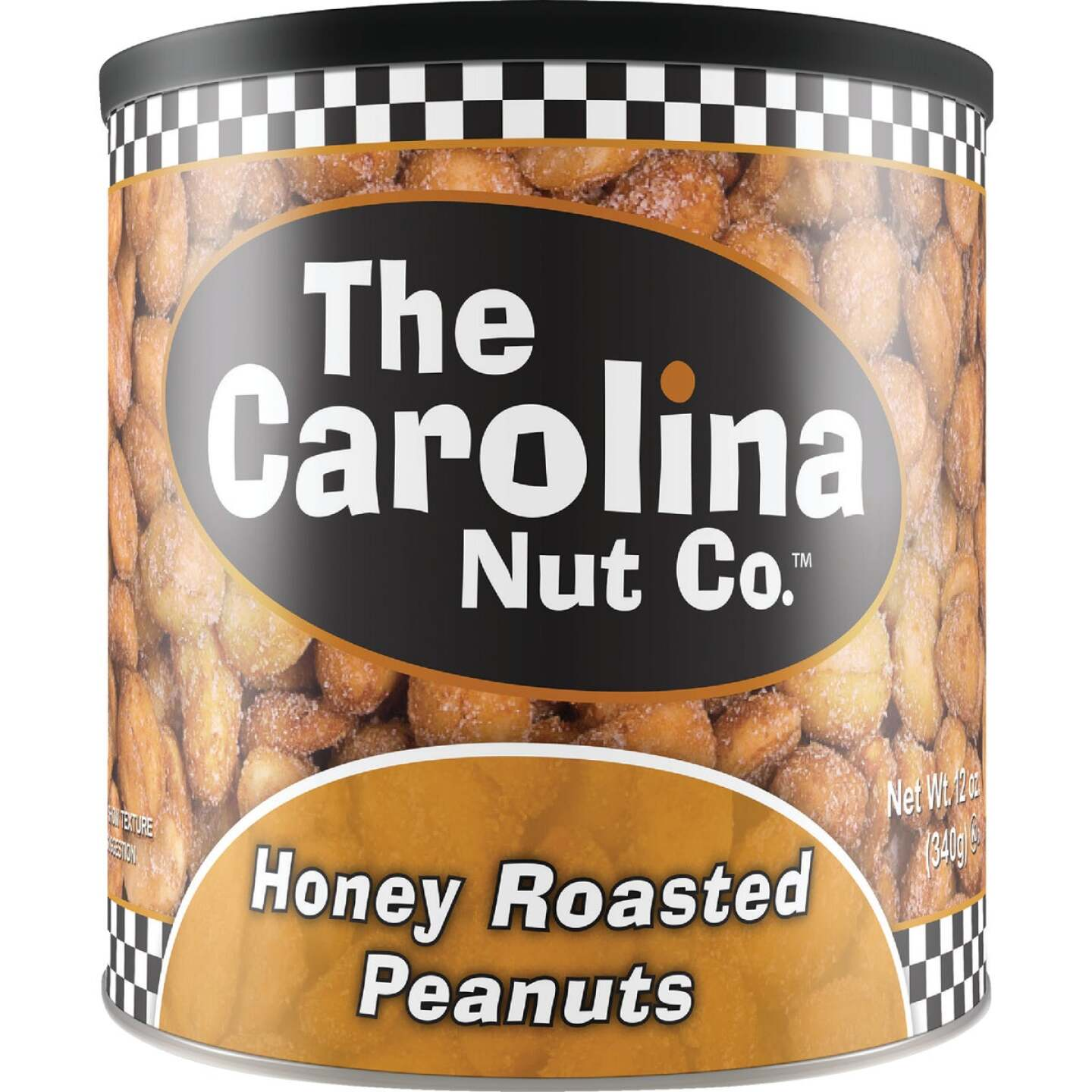 The Carolina Nut Company 12 Oz. Honey Roasted Peanuts Image 1