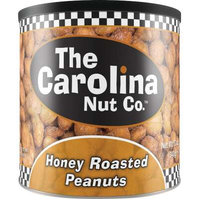 The Carolina Nut Company 12 Oz. Honey Roasted Peanuts