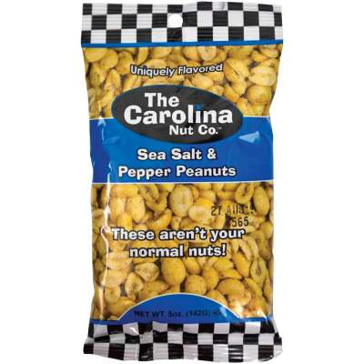 The Carolina Nut Company 5 Oz. Sea Salt & Pepper Peanuts